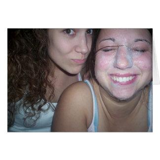 Nicole and Lauren Card