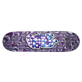 NICOLE Tag 03 Custom Graffiti Art Pro Skateboard