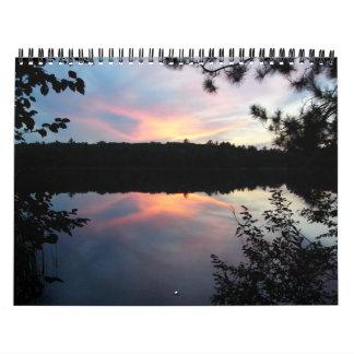 nicolet national forest wall calendar