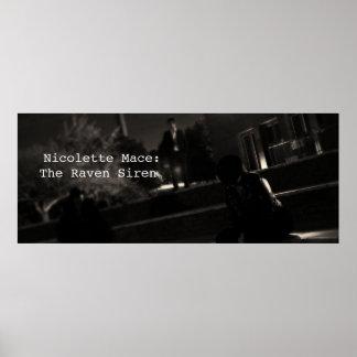 Nicolette Mace: the Raven Siren - Colosseum Poster