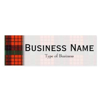 Nicolson clan Plaid Scottish tartan Pack Of Skinny Business Cards
