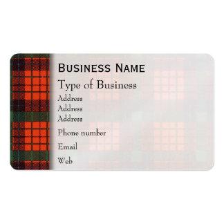 Nicolson clan Plaid Scottish tartan Pack Of Standard Business Cards