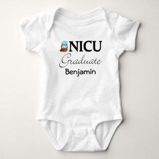 NICU Graduate Personalized Baby Boy T-shirt