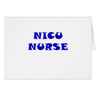 Nicu Nurse Card