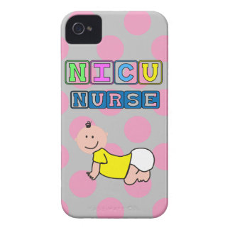"NICU Nurse ""Crawling Baby"" iPhone 4 Covers"