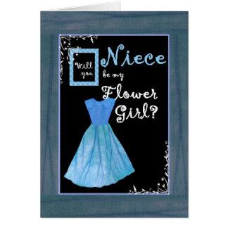 NIECE Flower Girl Invitation MINT GREEN Dres Dress
