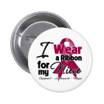 Niece - Multiple Myeloma Ribbon Button