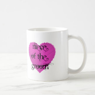 Niece of the Groom Coffee Mug