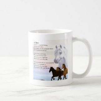 Niece Poem - Horses Coffee Mug
