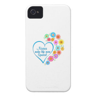 Nieces Special Heart Case-Mate iPhone 4 Cases