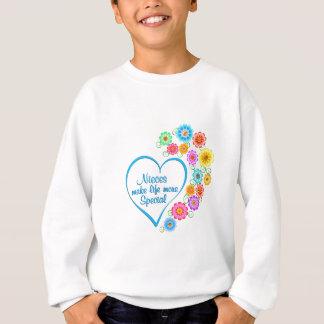Nieces Special Heart Sweatshirt