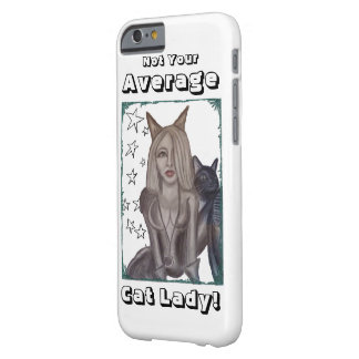Niecy Catz - Woman Barely There iPhone 6 Case