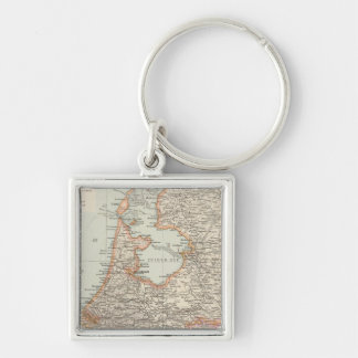 Niederlande - Netherlands Map Key Ring
