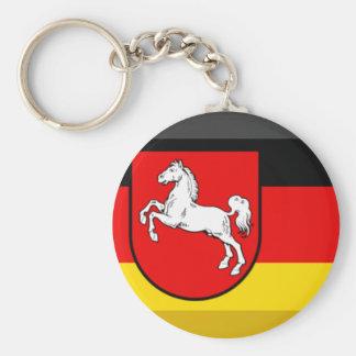 Niedersachsen Flag Gem Keychains