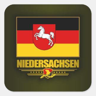 Niedersachsen Pride Square Sticker