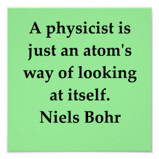 niels bohr quote posters