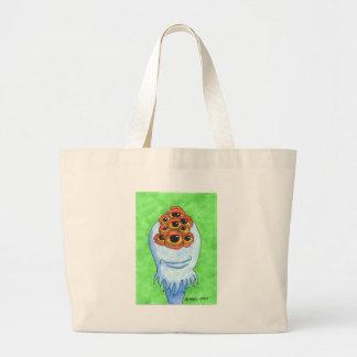 Nieneh the 9 eyed monster jumbo tote bag
