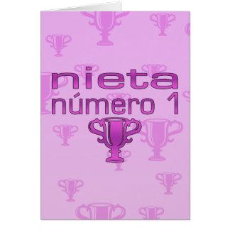 Nieta  Número 1 Card