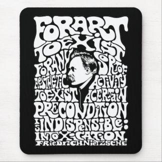 Nietzsche - Art Mouse Pad