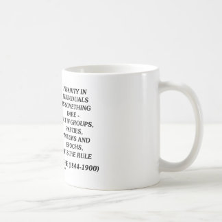 Nietzsche Insanity Rare In Individuals Quote Coffee Mug
