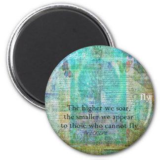 Nietzsche inspirational SOAR quote Magnet