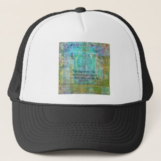 Nietzsche inspirational SOAR quote Trucker Hat