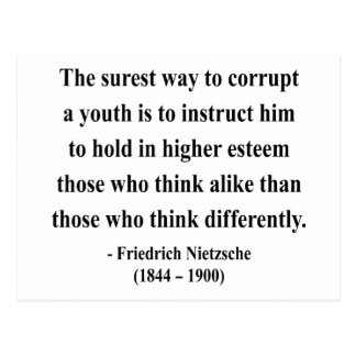 Nietzsche Quote 2a Postcard