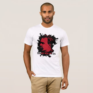 Nietzsche T-Shirt - Become Who You Are