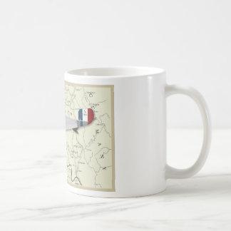 Nieuport17_Map Coffee Mug