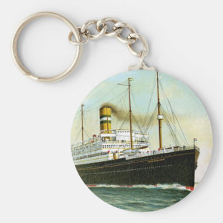 Nieuw Amsterdam of 1906 Basic Round Button Key Ring
