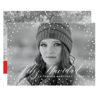 Nieve de la Navidad | Tarjeta de Navidad Card