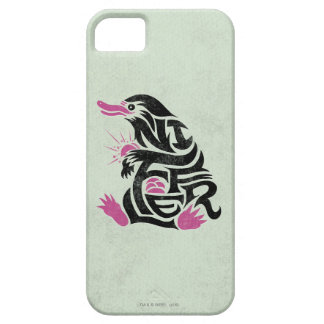 Niffler Typography Graphic iPhone 5 Covers