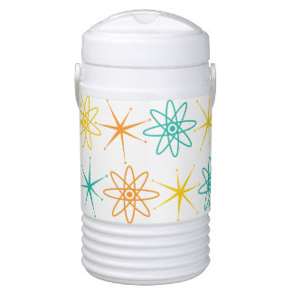 Nifty fifties - atoms and stars beverage cooler