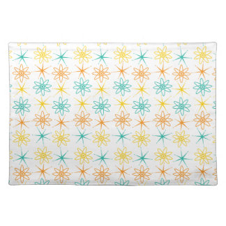 Nifty fifties - atoms and stars placemat