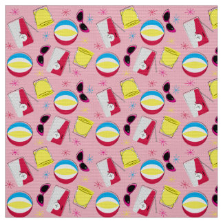 Nifty fifties - beach party fabric