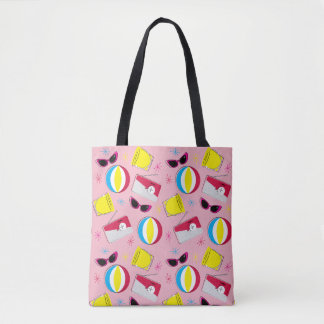 Nifty fifties - beach party tote