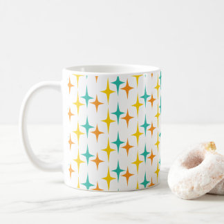 Nifty fifties - triple starburst mug