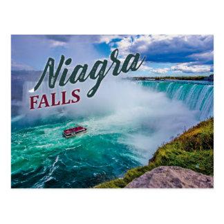 Nigara Falls 90's Style Postcard
