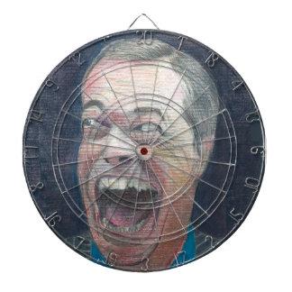 Nigel Farage dartboard