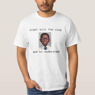 Nigel Hill (?) Fan Club - the original T-Shirt