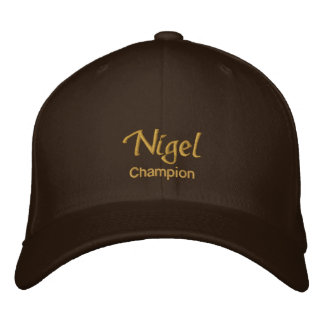 Nigel Name Cap / Hat Embroidered Baseball Caps