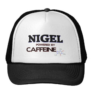 Nigel powered by caffeine mesh hat