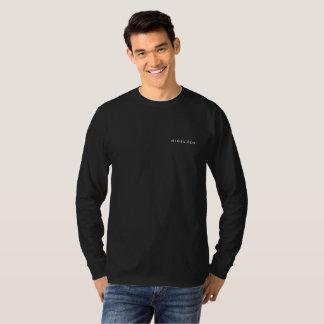 NIGEL ZEN LONG SLEEVE BLACK T-Shirt