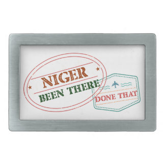 Niger Been There Done That Belt Buckle