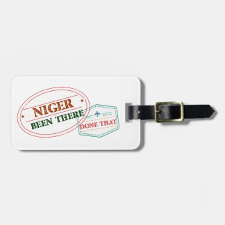 Niger Been There Done That Luggage Tag