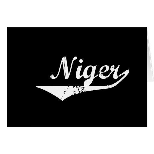Niger Card