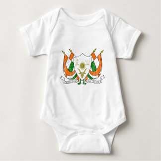 Niger Coat Of Arms Baby Bodysuit