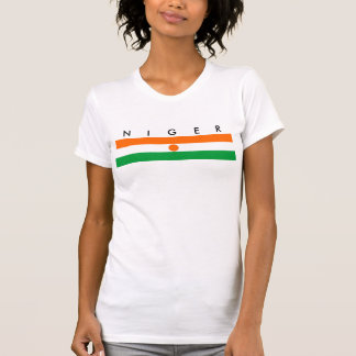 niger country flag nation symbol T-Shirt