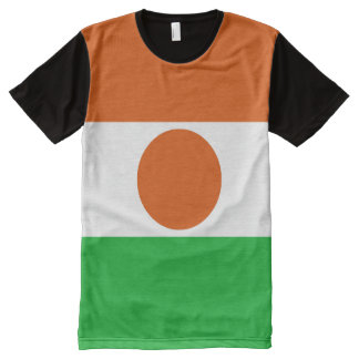 Niger Flag All-Over Print T-Shirt