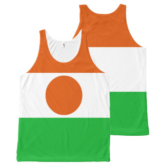 Niger Flag All-Over Print Tank Top